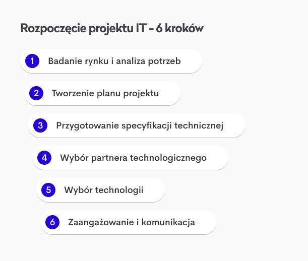 projekt informatyczny kroki